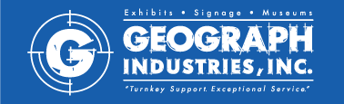 geograph industries sign company logo
